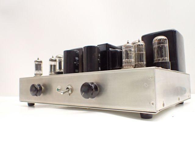 【部品取り】 自作真空管アンプ 使用トランス LUX ラックス 8A54/CSZ-15 SEL C-516 使用真空管 東芝 6GA4/5AR4/12AU7 等 ∩ 5FD1C-34