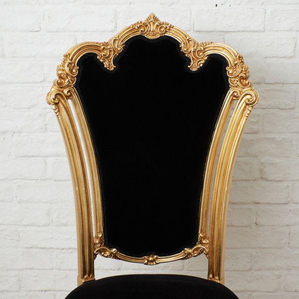IZ45963I○張替済 37万 SILIK apollonia チェア イタリア シリック 最高峰 ロココ 様式 ゴールド ペイント 姫家具 椅子 ダイニングチェア_画像3
