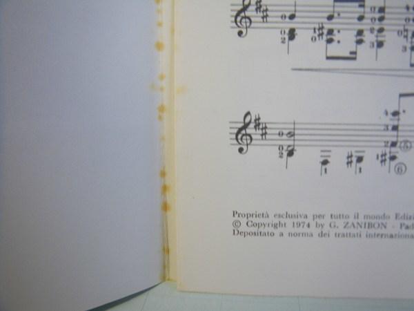 クラシック・ギター洋譜「LA CATEDRAL」中古楽譜_画像3