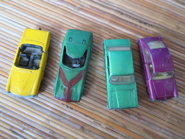 ミニカー 4台 マッチボックス MATCHBOX_画像1