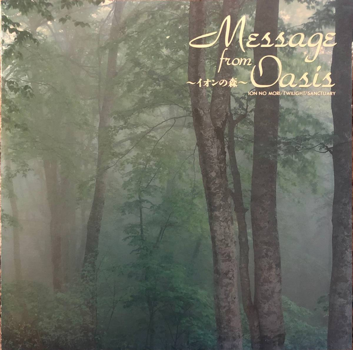 Takashi Kokubo = 小久保隆 Message From Oasis - Ion forest - =イオンの森