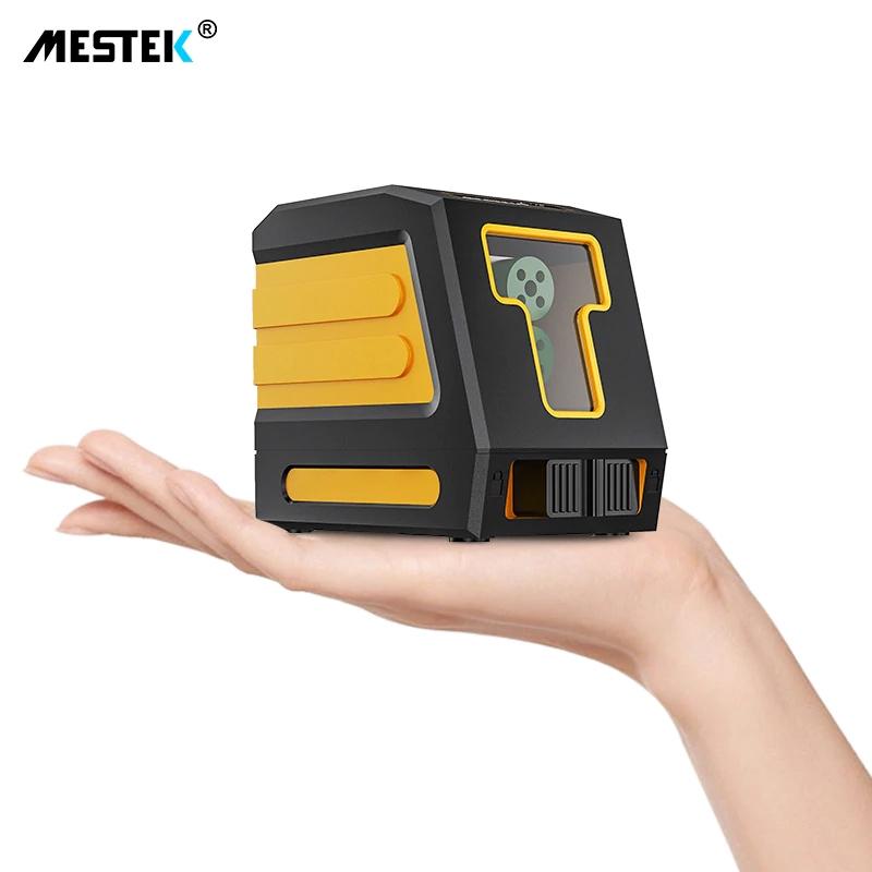 《最安新品》デジタル測定器 レーザーレベル MESTEK 緑 クロスライン 防水 ポータブル 水平 垂直 ホームツール プロ仕様_画像7