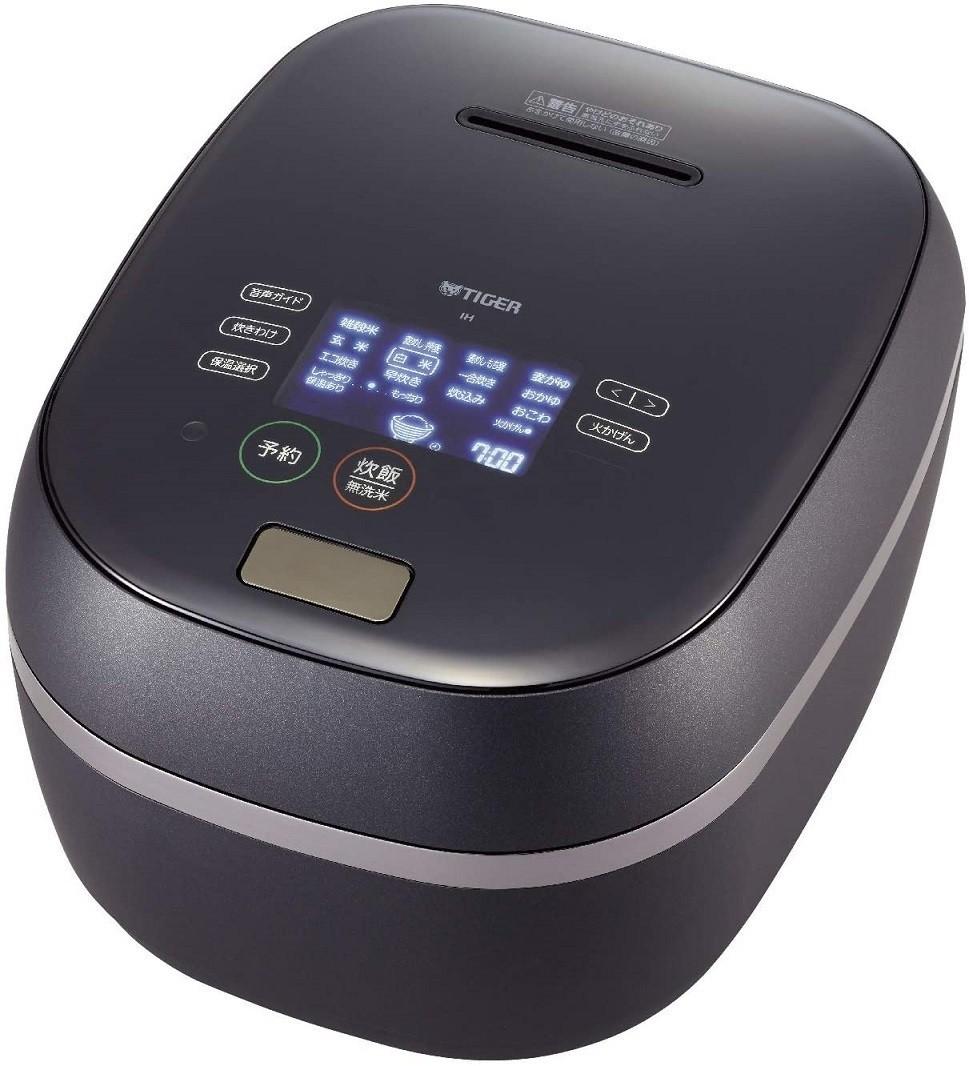 【新品 送料無料】 タイガー 炊飯器 5.5合 土鍋 圧力IH式 JPG-S100KS TIGER 炊飯ジャー シルキーブラック