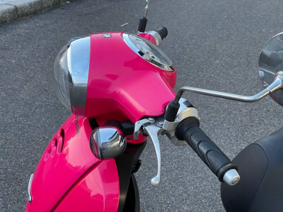 「目を引く鮮やかなカラーリング! ホンダ ジョルノ FIモデル 80'sのアメ車のような鮮やかなカラーです。」の画像3