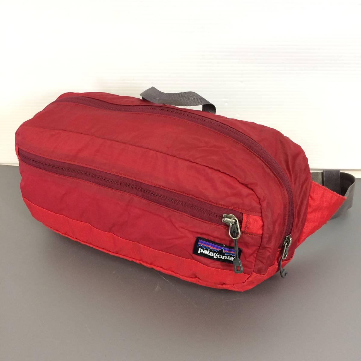 patagonia パタゴニア 48450FA13 LW Travel Hip Pack ライトウェイト トラベル ヒップパック ショルダーバッグ 赤 レッド②