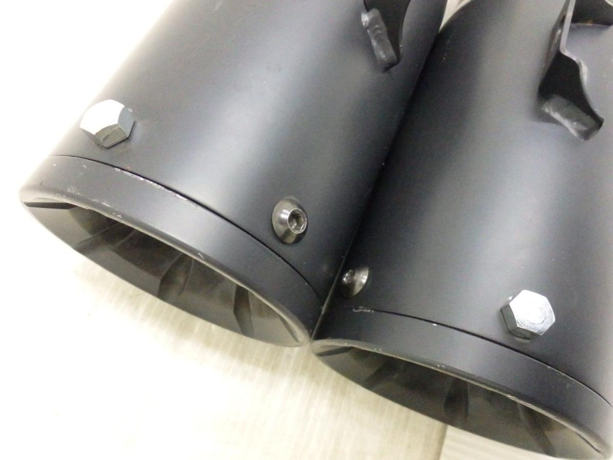ソフテイル FXFB FXFBS 18-20 vance&hines バンス ハイアウトプット スリップオン マフラー ブラック 即決落札で送料無料【U035】_画像9