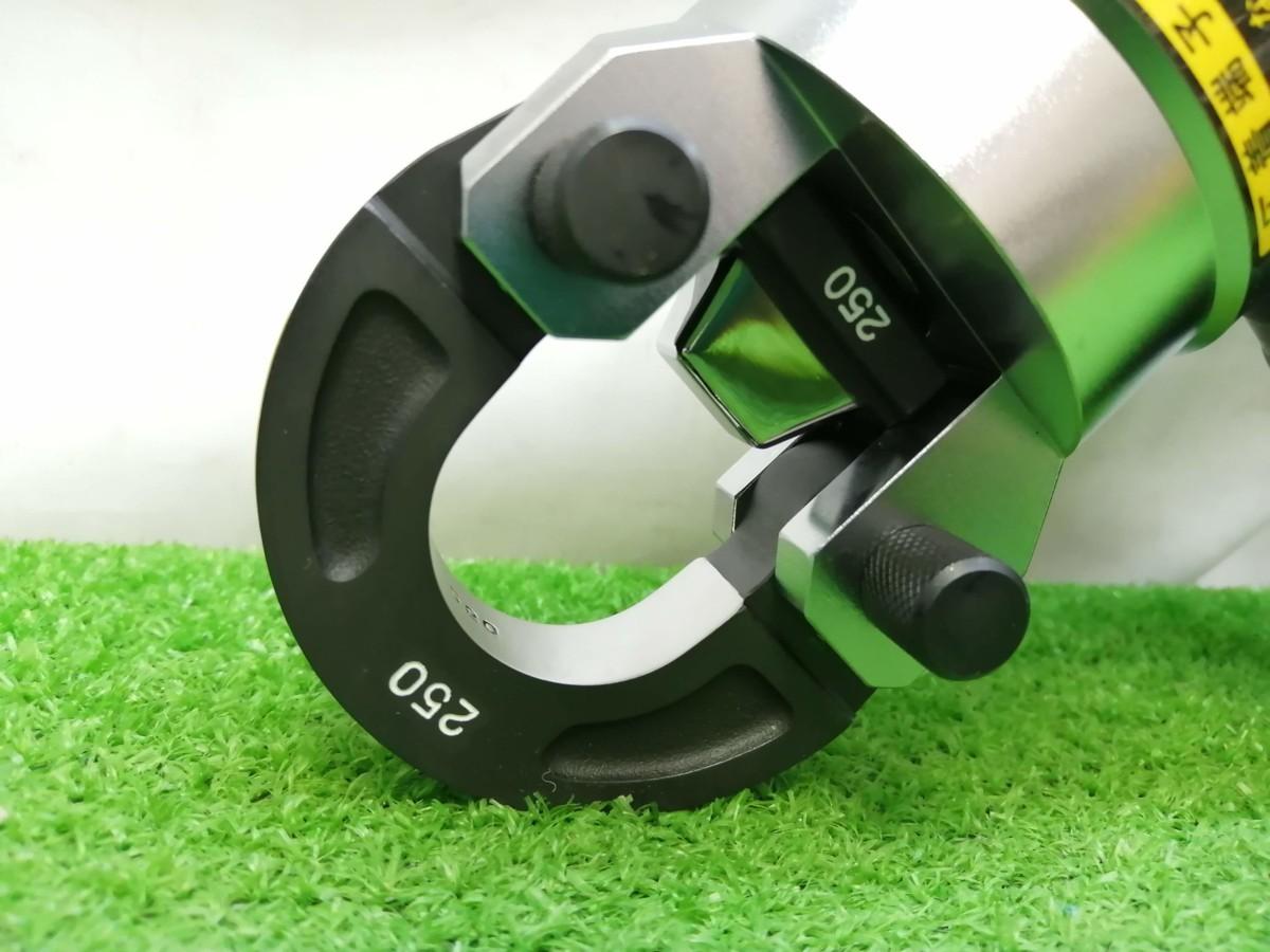 未使用品 CACTUS カクタス 18V コードレス電動油圧式圧着工具 EV-250DL_画像4