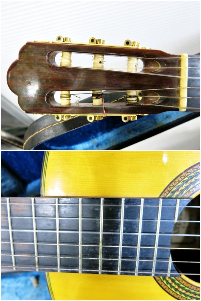 ASTURIAS アストリアス クラシックギター A-5 ハードケース付き 弦楽器 動作良好 ギター_画像3