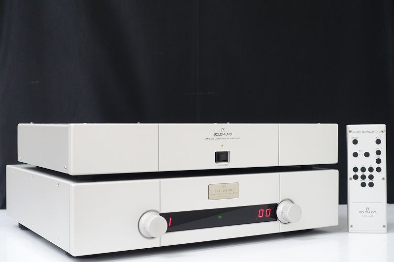 ■□GOLDMUND MIMESIS 37 Signature プリアンプ ゴールドムンド M37S 正規品 元箱付□■0