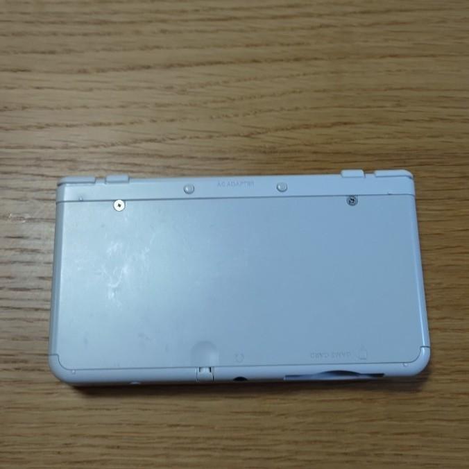new Nintendo 3DS パールホワイト