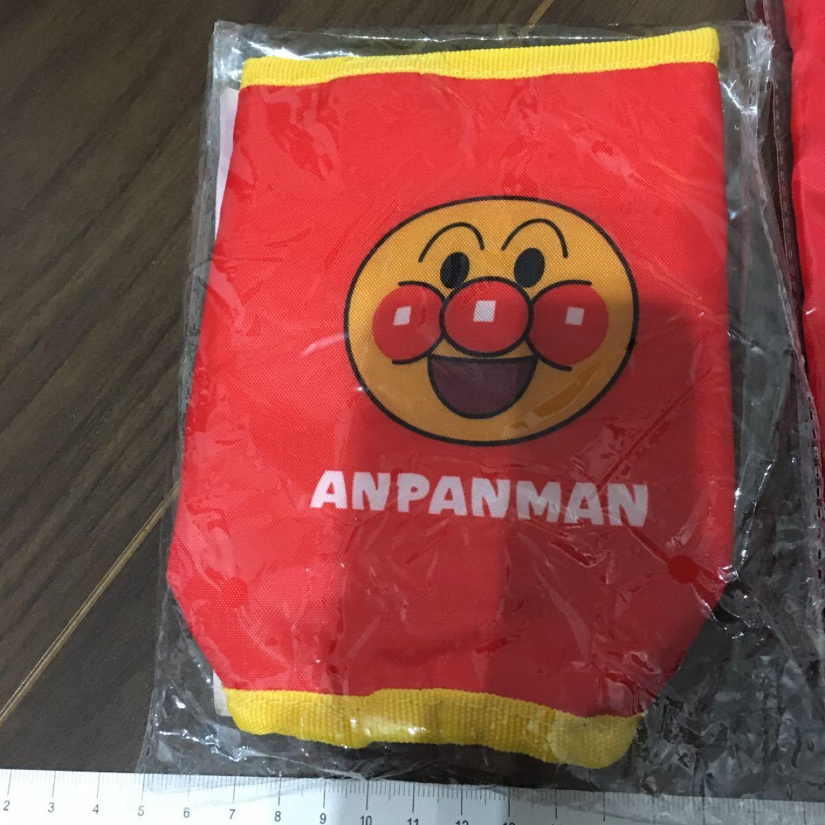 アンパンマン アサヒ飲料 アサヒ バイキンマン メロンパンナ ペットボトルホルダー ストローボトル 巾着 やなせたかし