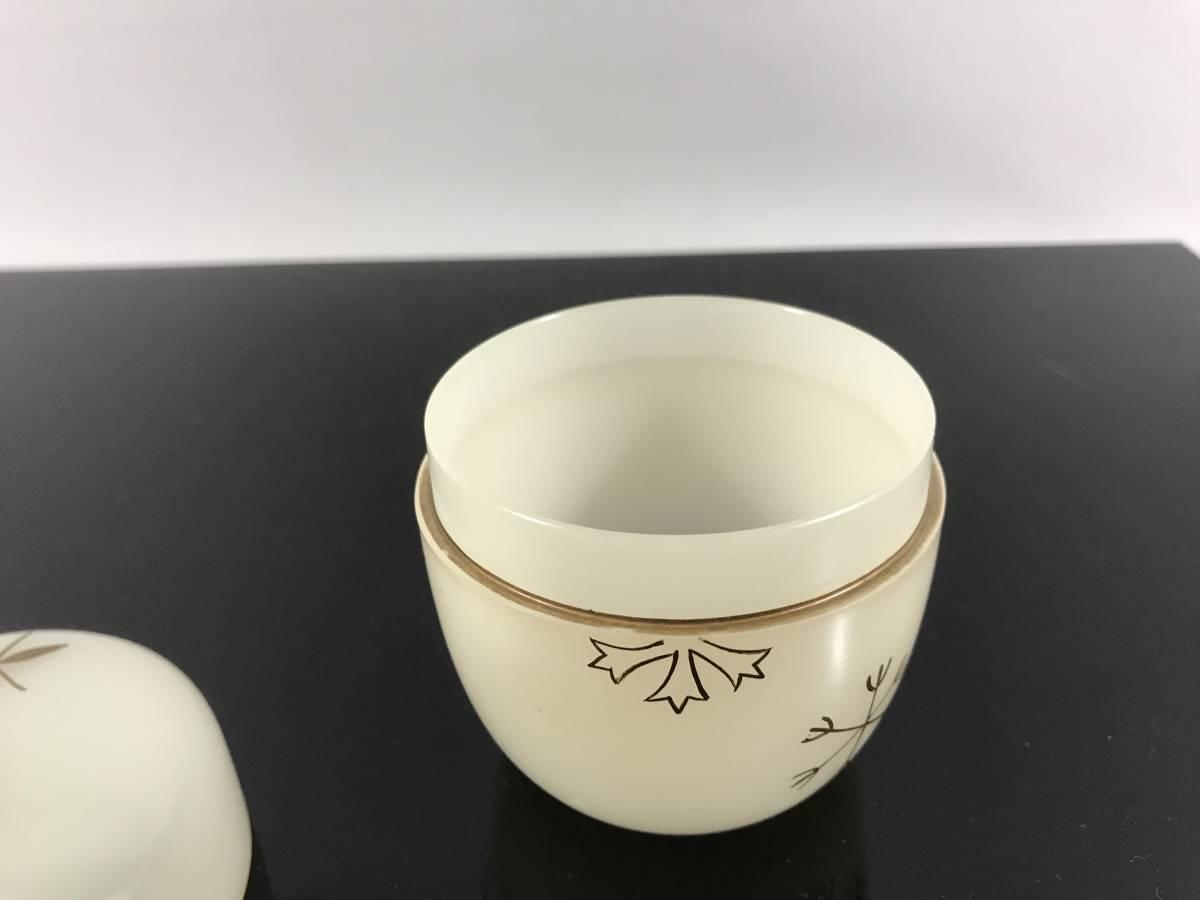 茶道具 透明棗 雪輪 紙箱 茶入 _画像3