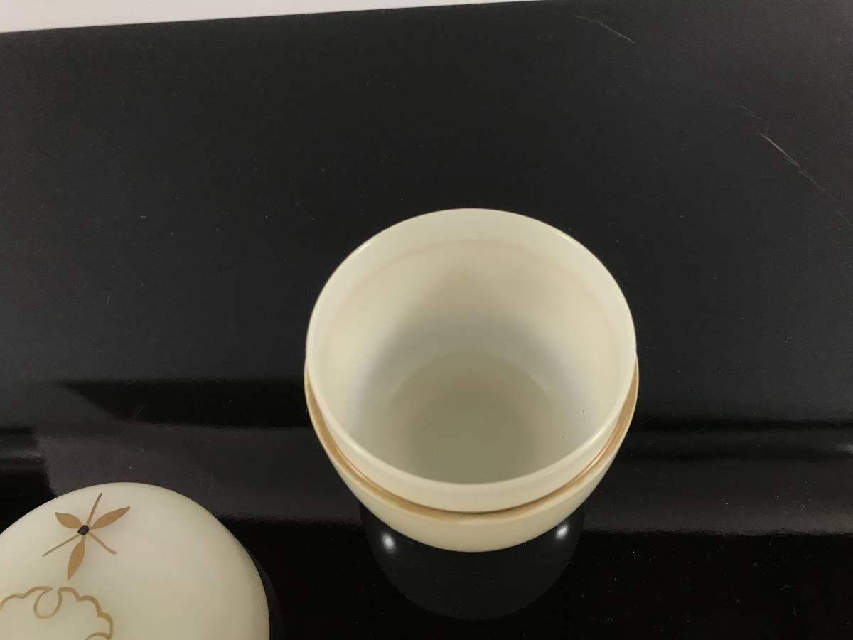 茶道具 透明棗 雪輪 紙箱 茶入 _画像5