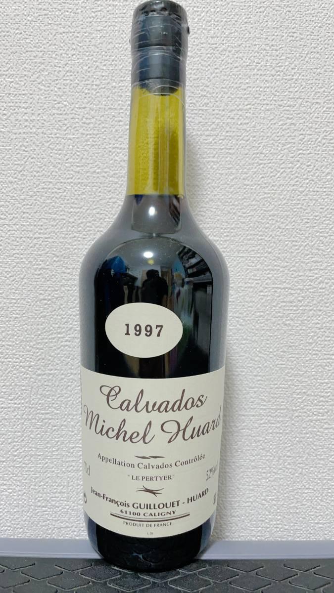 ミシェル ユアール 1997 - 2014 カスクストレングス シングルカスク クラシックバレル #18 cellar#1 for BAR Calvador & SHINANOYA 52%_画像1