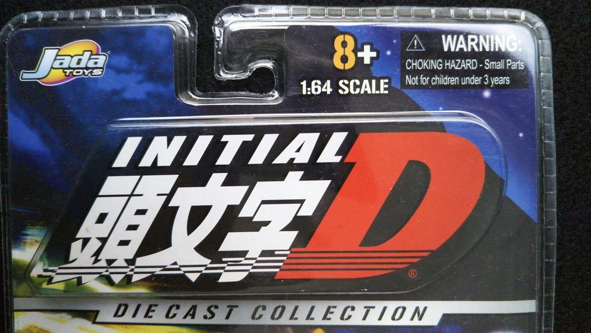 Jada Toys 1/64 頭文字D TOYOTA TRUENO AE86 イニシャルD トヨタ スプリンタートレノ 旧車 ミニカー InitialDドリフト ハチロク 未開封_画像7