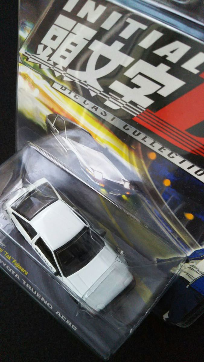 Jada Toys 1/64 頭文字D TOYOTA TRUENO AE86 イニシャルD トヨタ スプリンタートレノ 旧車 ミニカー InitialDドリフト ハチロク 未開封_画像4