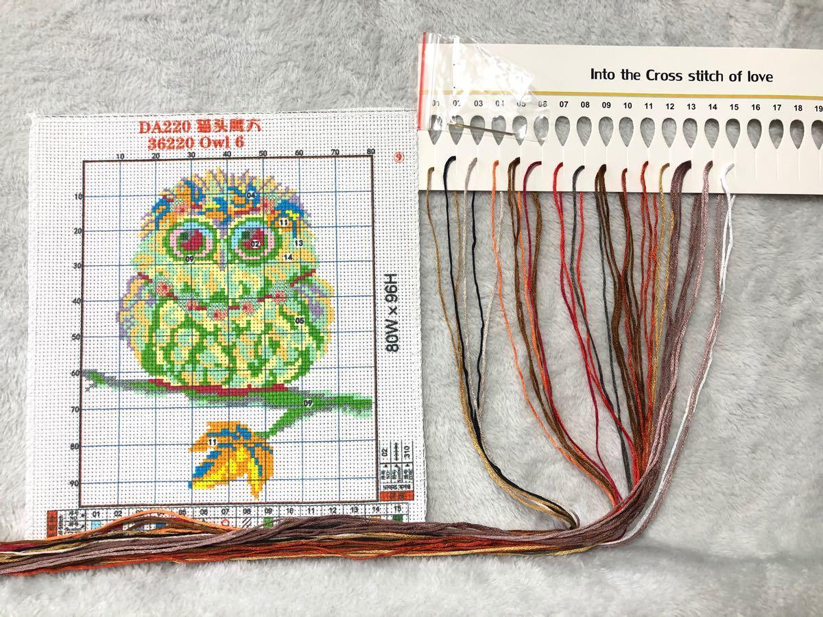 クロスステッチ刺繍キット(DA220)14CT