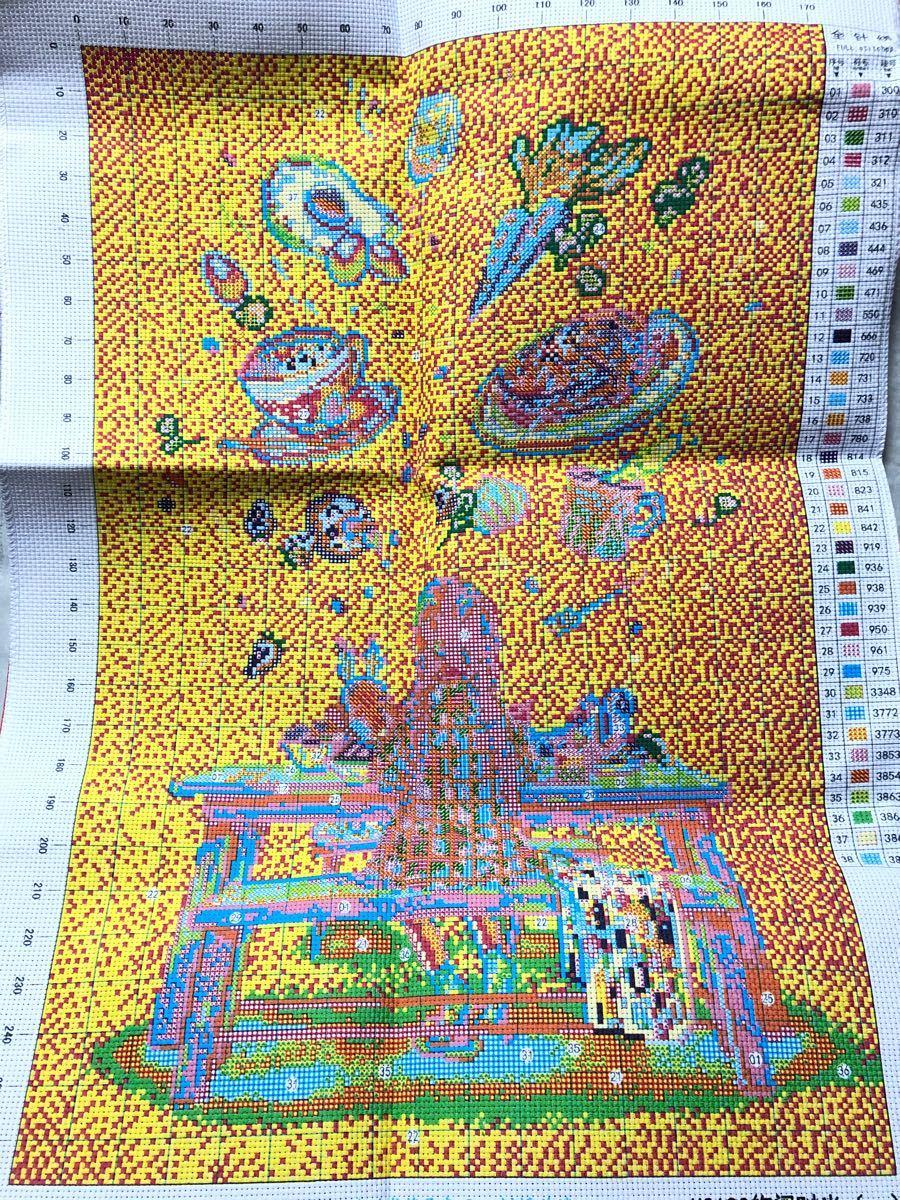 クロスステッチ刺繍キット(H2190)11CT