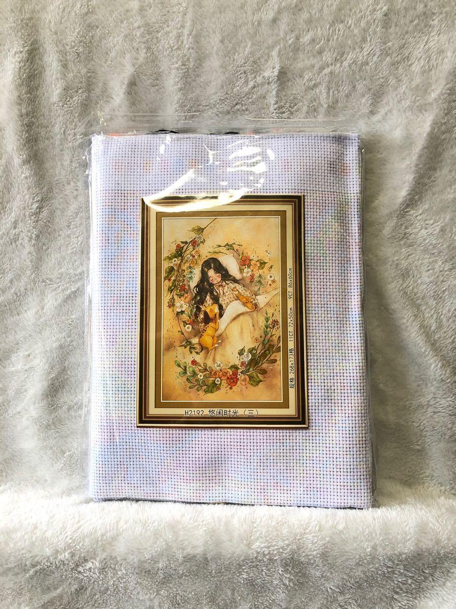 クロスステッチ刺繍キット(H2192)11CT