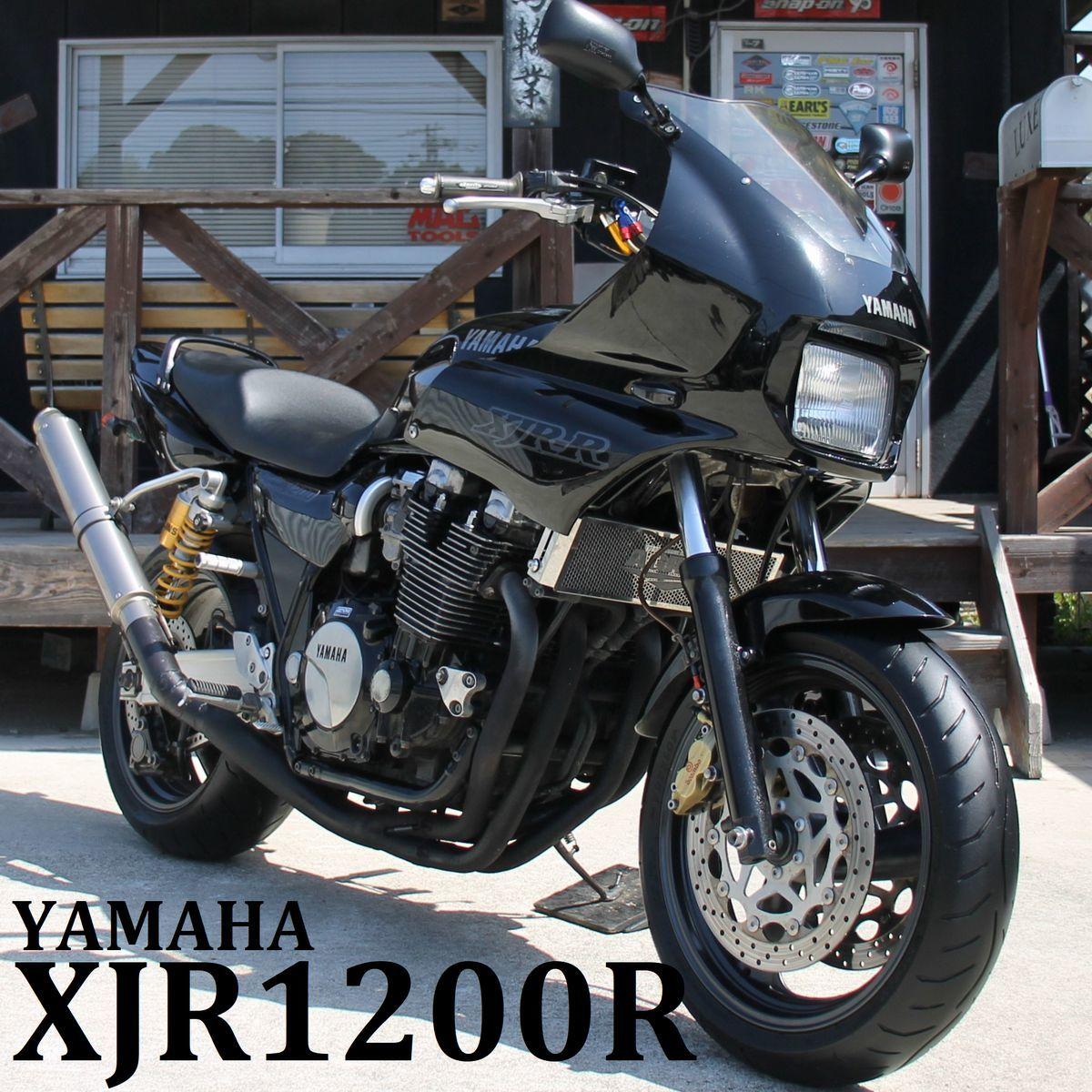 「希少! XJR1200R 4KG マフラー改 フェンダーレス 検: XJR1200 XJR1300 CB1300 CB1000SF ゼファー1100 zxcv21112」の画像1