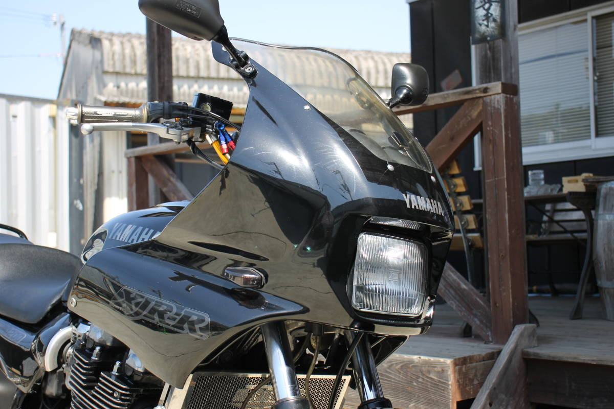 「希少! XJR1200R 4KG マフラー改 フェンダーレス 検: XJR1200 XJR1300 CB1300 CB1000SF ゼファー1100 zxcv21112」の画像3