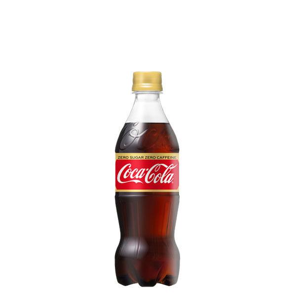 コカコーラ ゼロカフェイン 500ml 24本 (24本×1ケース) PET ペットボトル 炭酸飲料 コカ・コーラ Coca-Cola【送料無料】_画像1