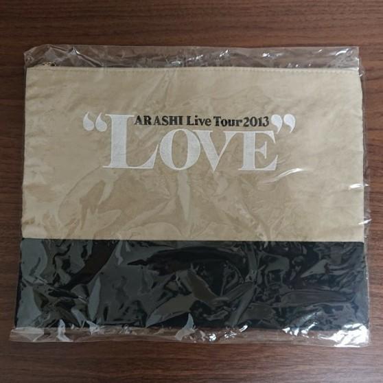 嵐 LOVEツアーライブグッズ ポーチ ARASHI