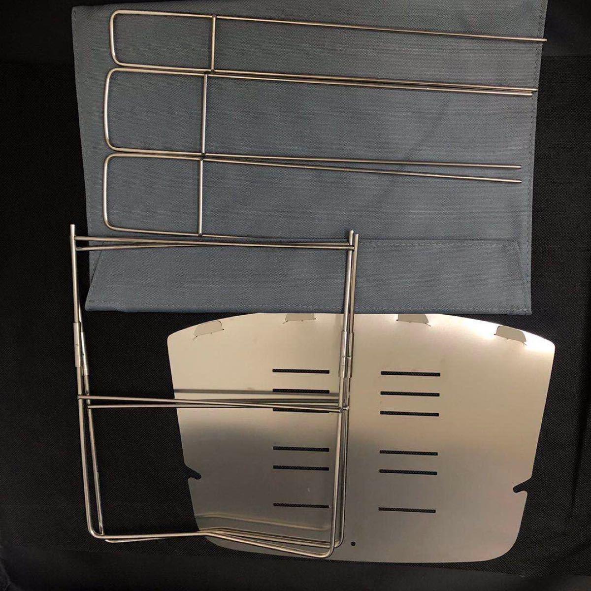 焚き火台 折り畳み式 ステンレス製 焚火台 バーベキューコンロ 携帯便利
