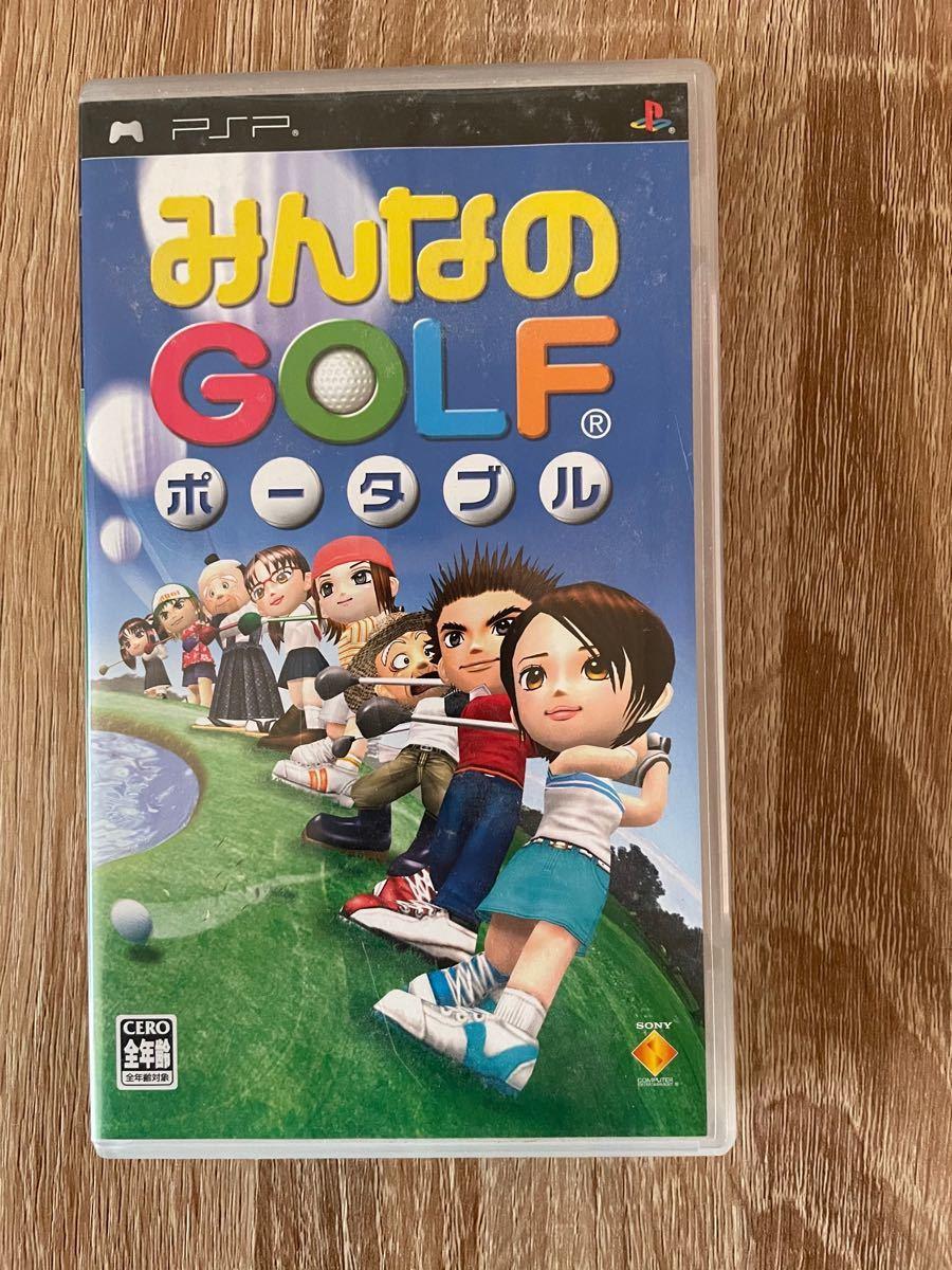 PSP みんなのゴルフポータブル