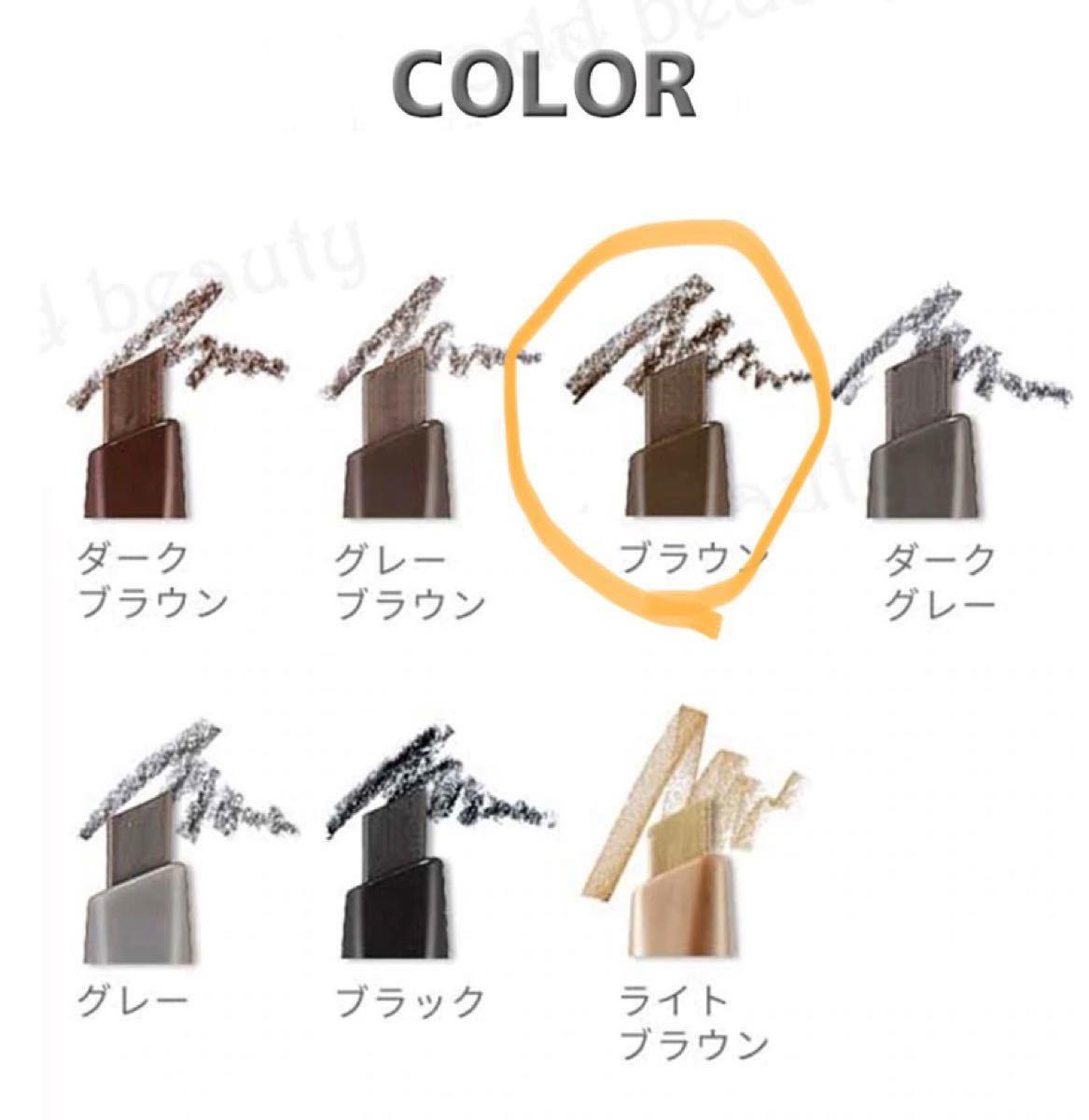 【エチュードハウスドローイングアイブロウペンシル】ブラウン 3号