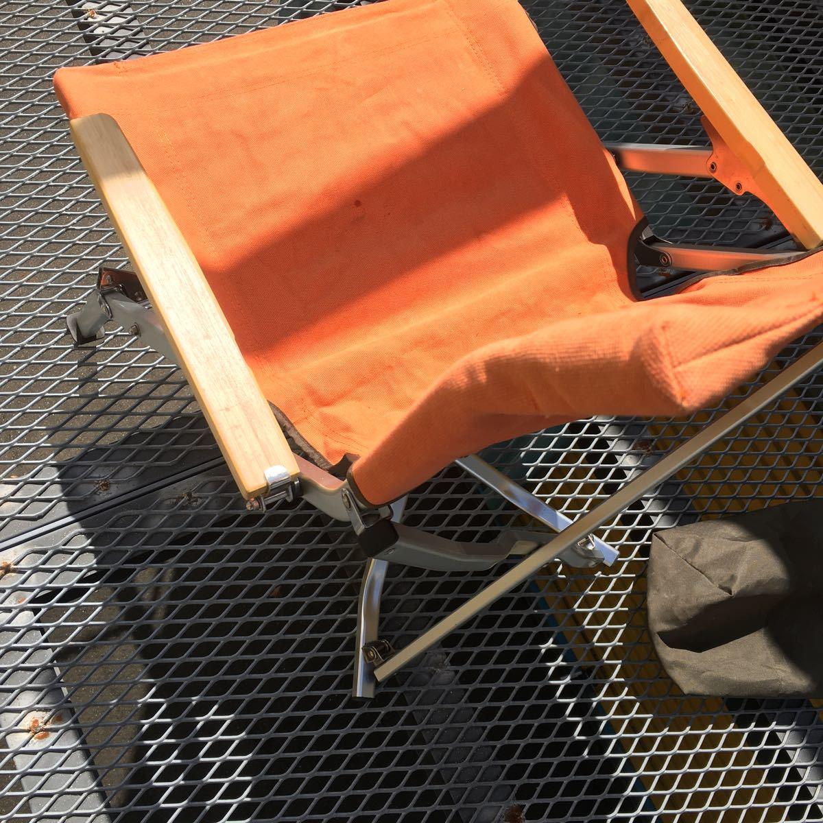 snow peak スノーピーク ローチェア30 オレンジ