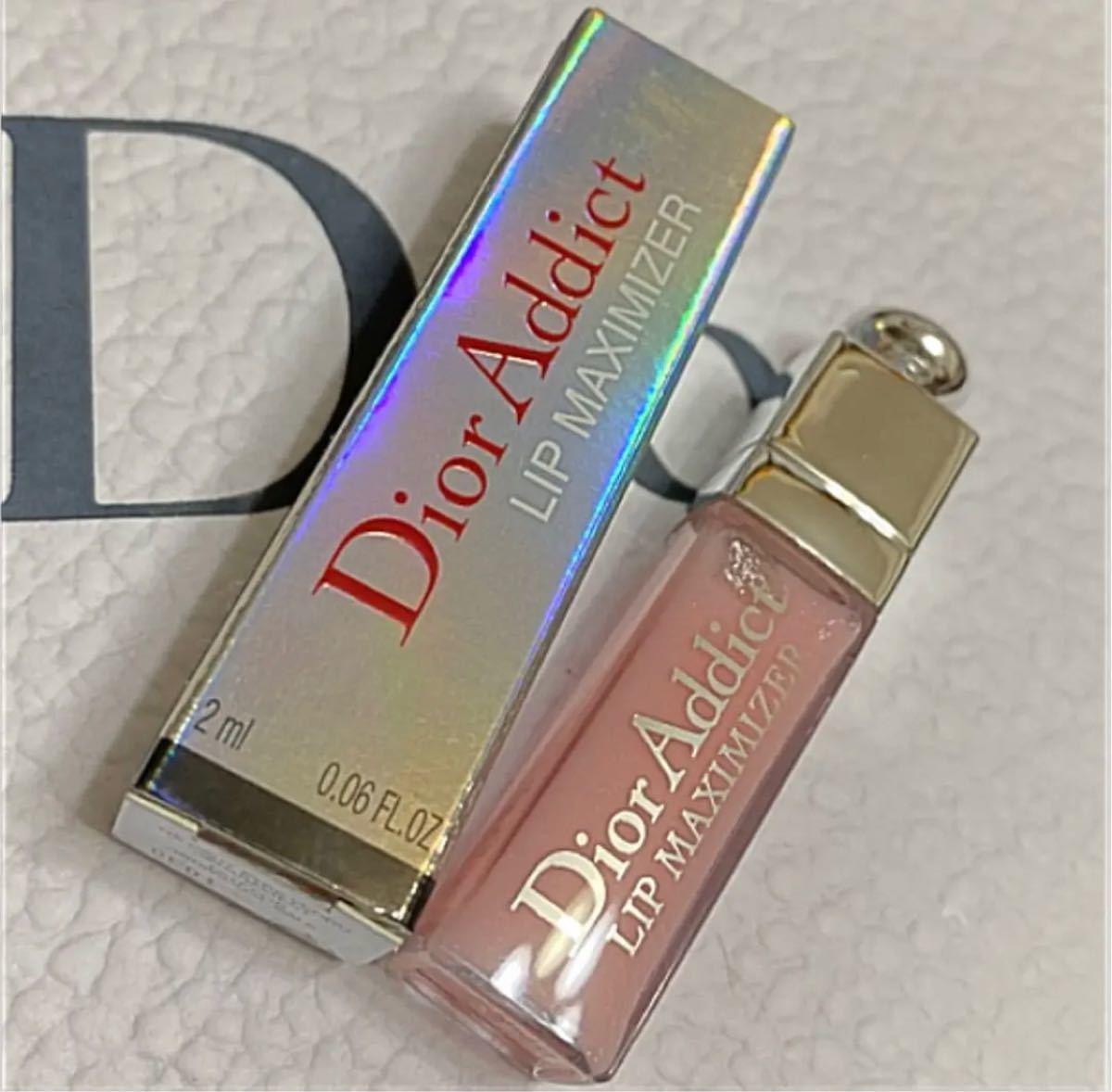 ディオール アディクト リップ マキシマイザー ミニサイズ 001 ピンク 箱付き 新品未使用