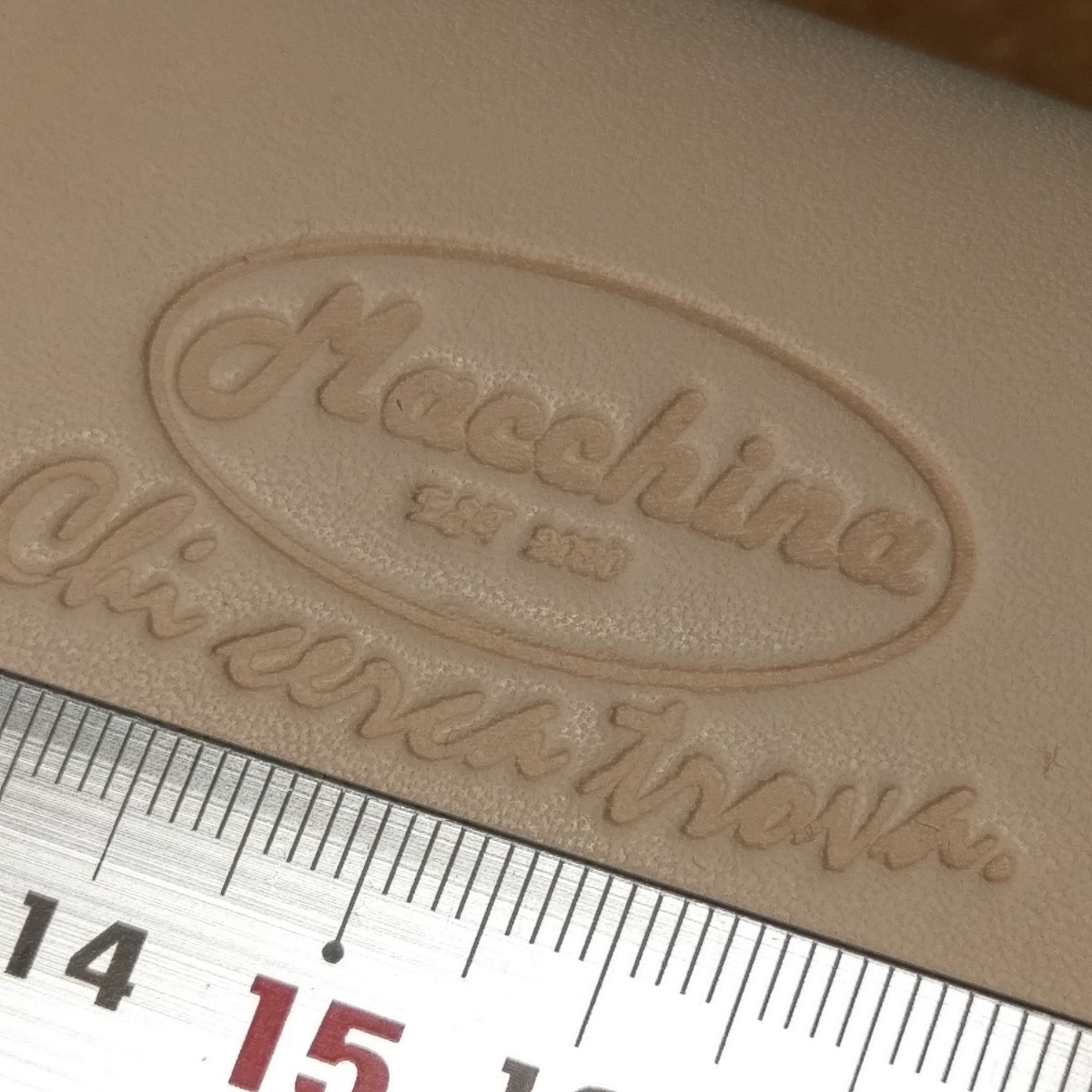 レザークラフト用 刻印が作れる!  紫外線硬化樹脂版 2枚 レタープレス