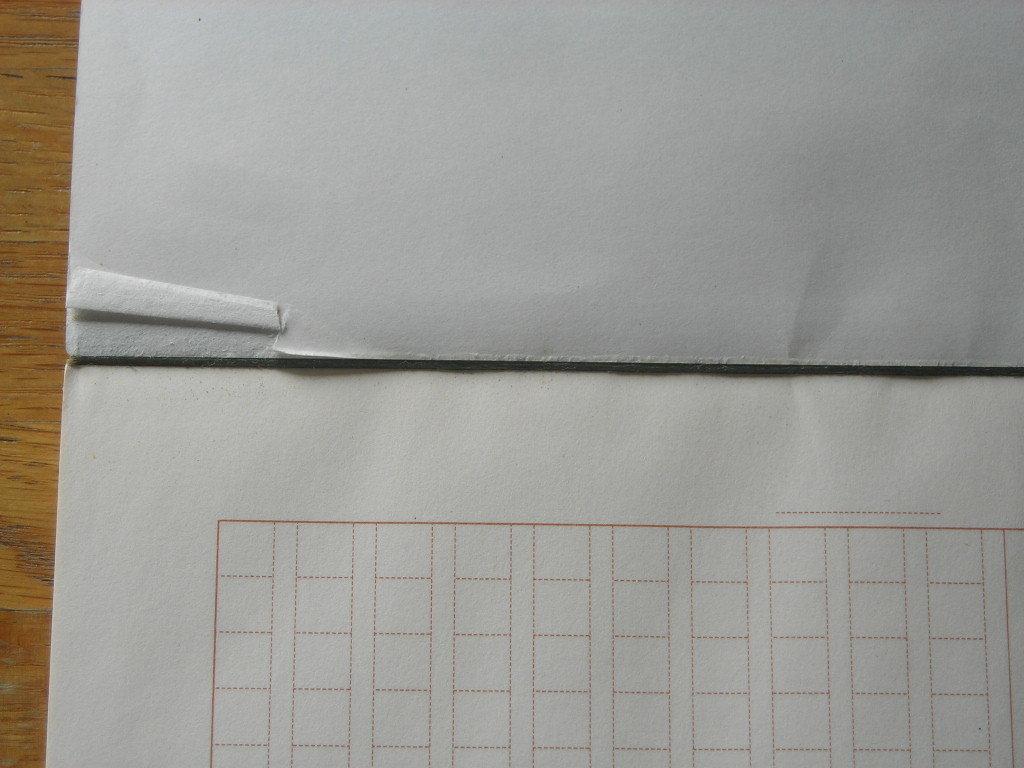 原稿用紙 コクヨ KOKUYO ケ-31 タテ書 20x20 残り36枚_画像4