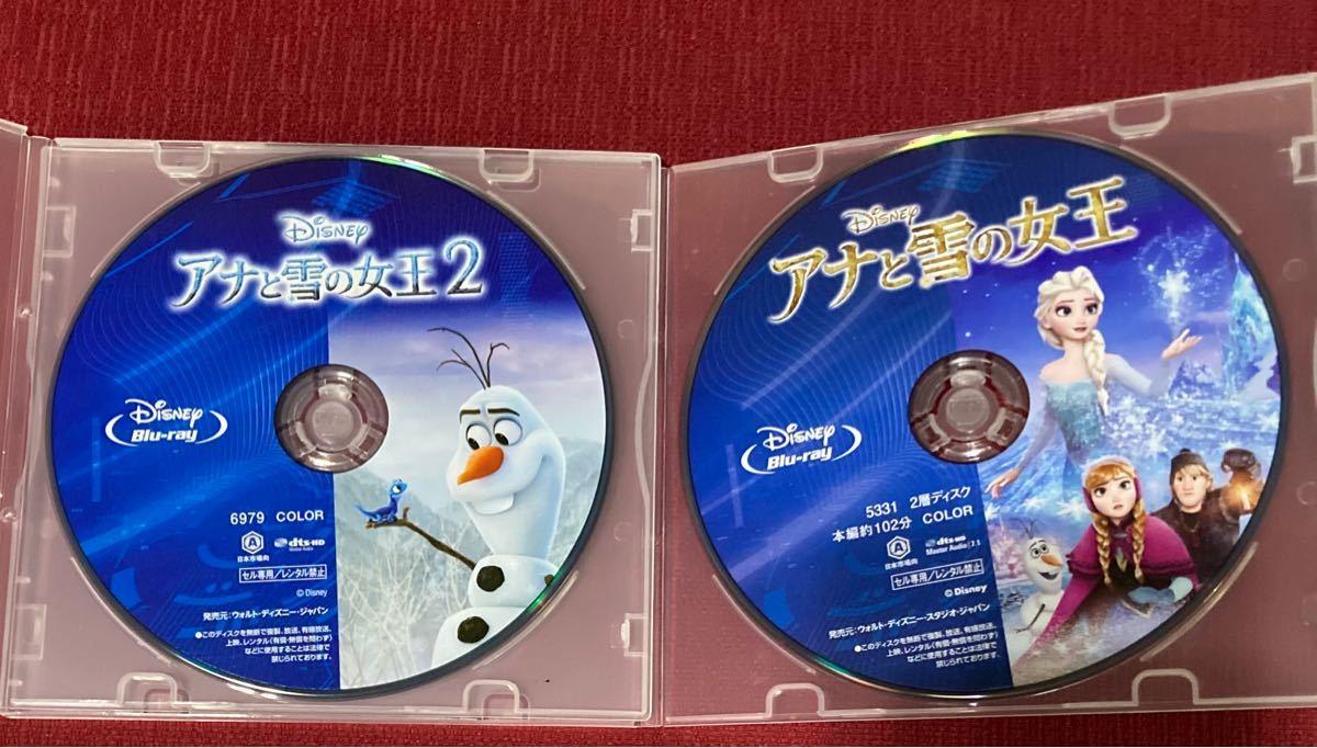 アナと雪の女王1と2 Blu-ray2枚