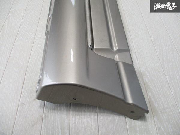 未使用品 スズキ純正 JB23W ジムニー 4型 サイドステップ サイドスカート ドアパネル付 右側 運転席側 ゴールド系 24-99064-879 即納_画像2