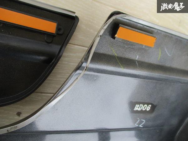 未使用品 スズキ純正 JB23W ジムニー 4型 サイドステップ サイドスカート ドアパネル付 右側 運転席側 ゴールド系 24-99064-879 即納_画像9