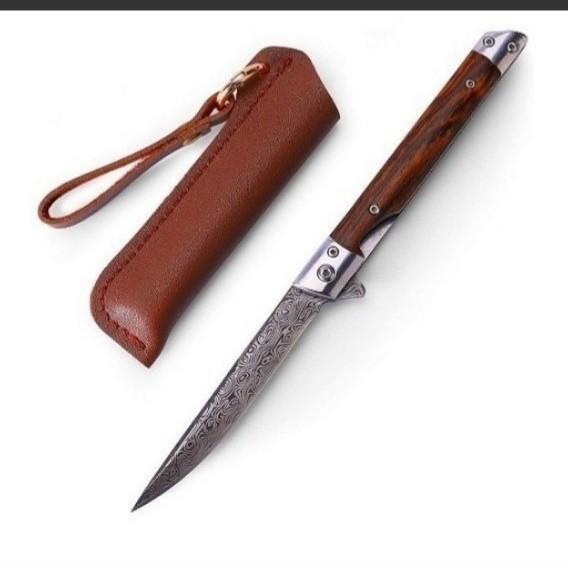 フォールディングナイフ ダマスカス