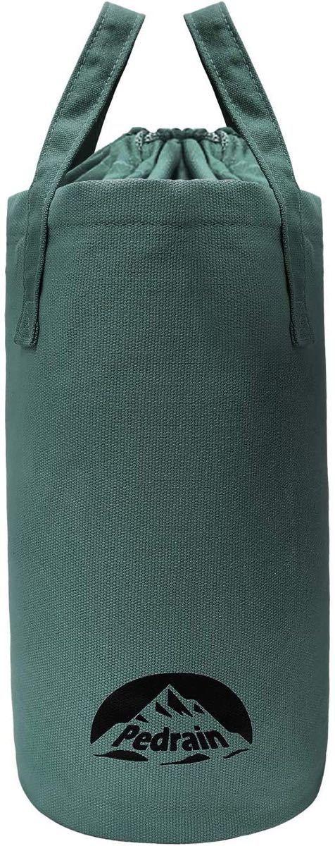 ランタンケース 帆布製 ランタン入れ 巾着式 アーミーグリーン オイルランタン ハリケーンランタン フュアーハンドランタン