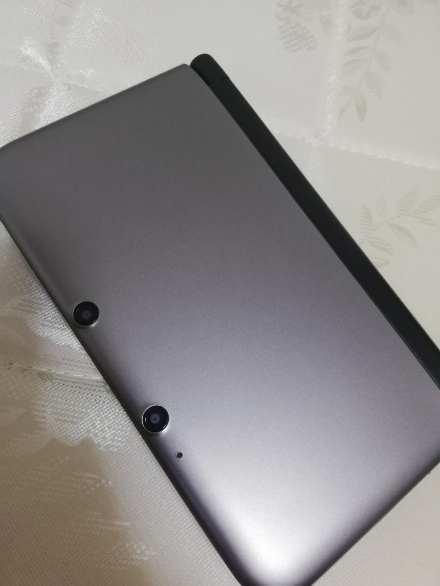 ニンテンドー3DS LL 本体 シルバー×ブラック 良品