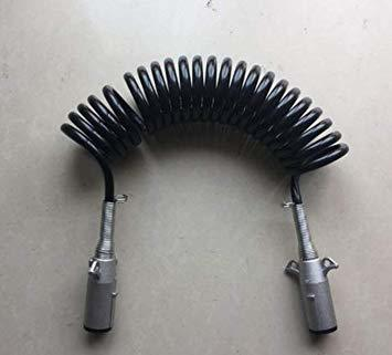 1点限り!01 JSTwig 7極 トレーラー 7ピン 電極配線 接合カプラー コネクター ヒッチ ソケット セット トレーラ_画像4