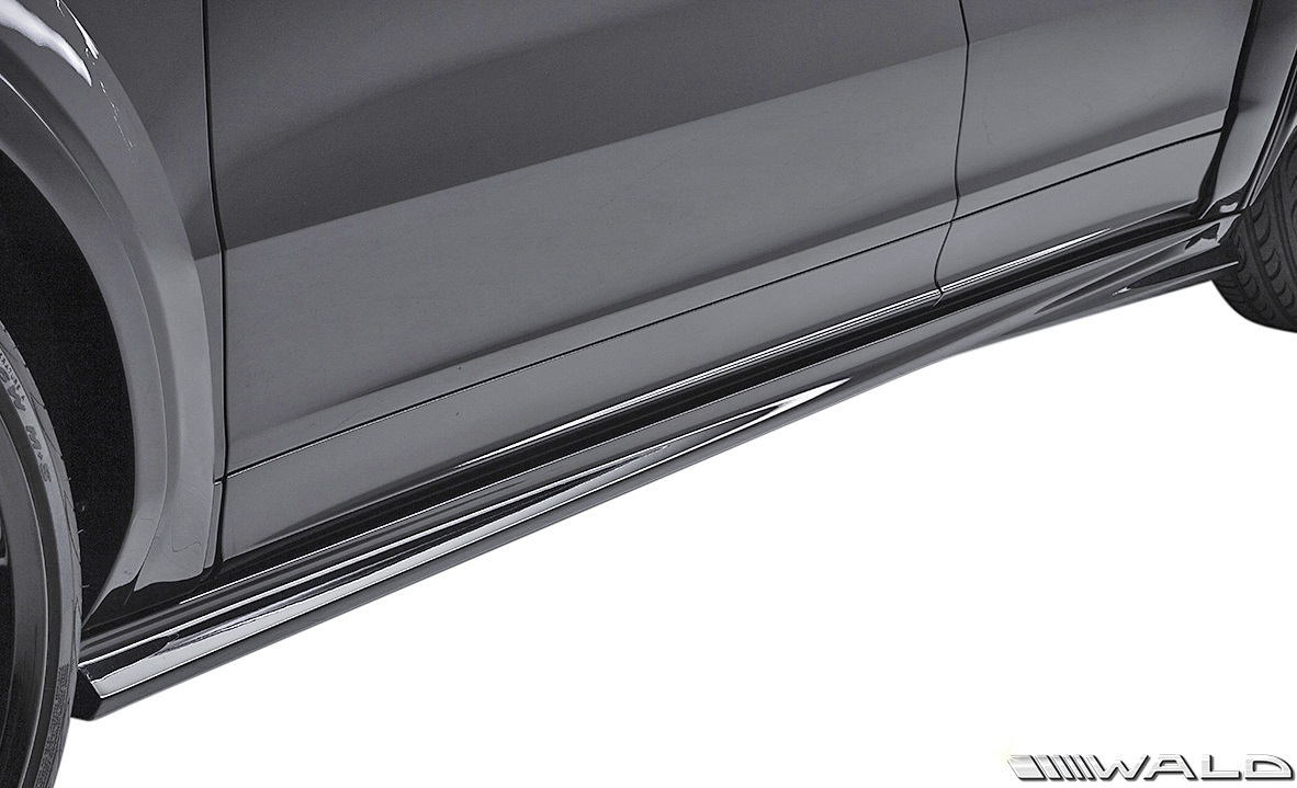 【M's】PORSCHE CAYENNE COUPE 9YA (2019y-) WALD BLACK BISON サイドステップ LR // ヴァルド バルド FRP エアロ パーツ 外装 セット_画像2