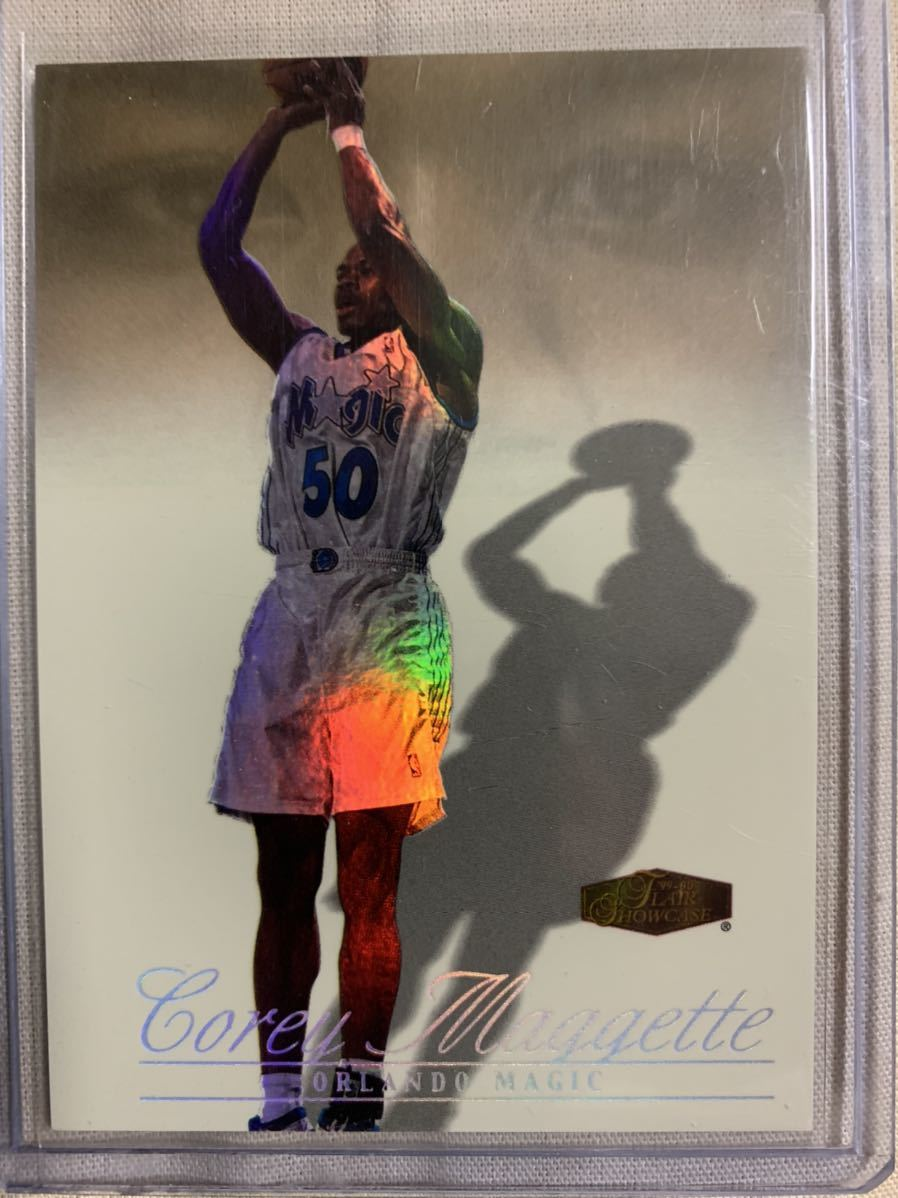 1999-00 Flair Showcase Legacy Collection #123 Corey Maggette 15/20_画像1