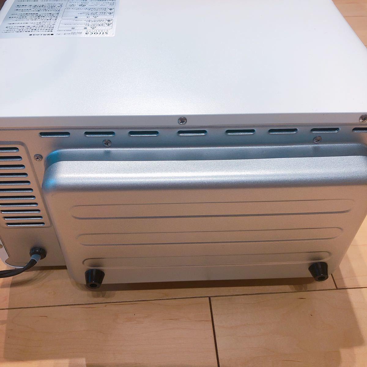 シロカ コンベクションオーブン sco-213 ホワイト  美品 新生活 白 siroca ノンフライオーブン オーブントースター