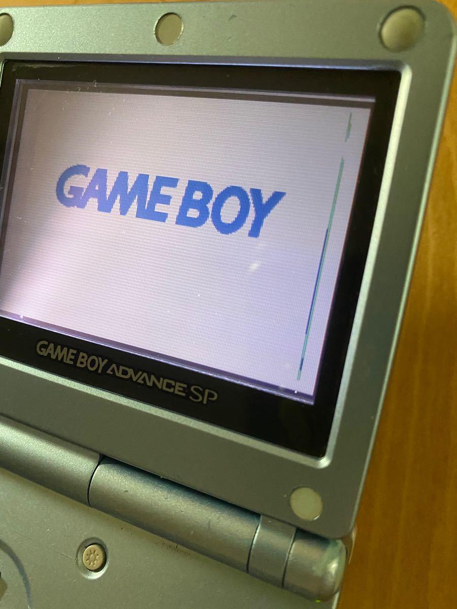 ゲームボーイアドバンスsp2台 ゲームボーイソフト1つ ジャンク