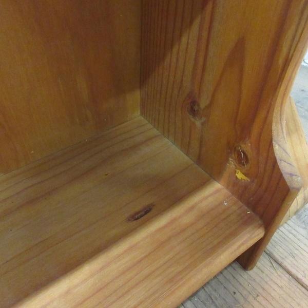 イギリス アンティーク 家具 ブックシェルフ ブックケース 本棚 飾り棚 収納 木製 パイン 英国 BOOKCASE 6717b_画像10