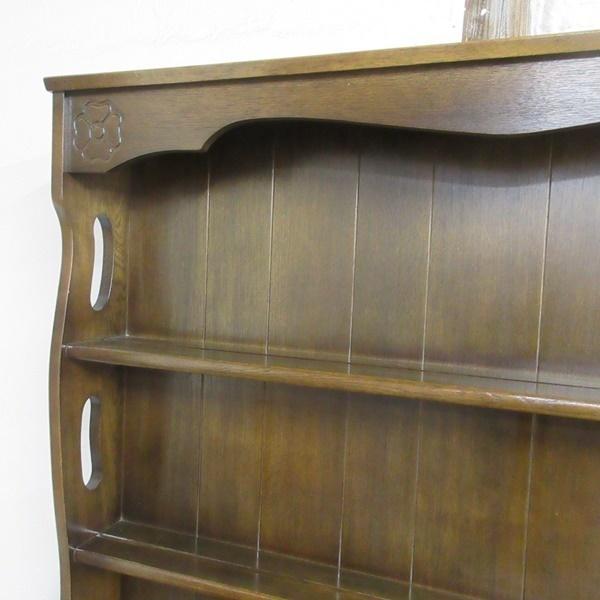 イギリス アンティーク 家具 ドレッサー カップボード キャビネット 飾り棚 食器棚 木製 オーク 収納 英国 COPBOARD 6730b_画像6