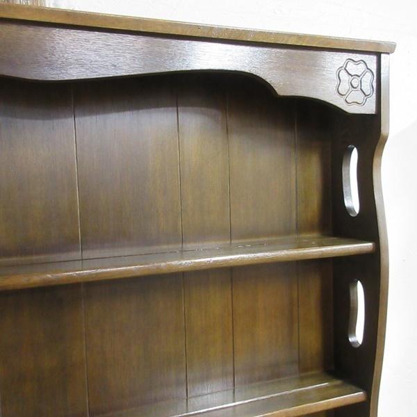 イギリス アンティーク 家具 ドレッサー カップボード キャビネット 飾り棚 食器棚 木製 オーク 収納 英国 COPBOARD 6730b_画像7
