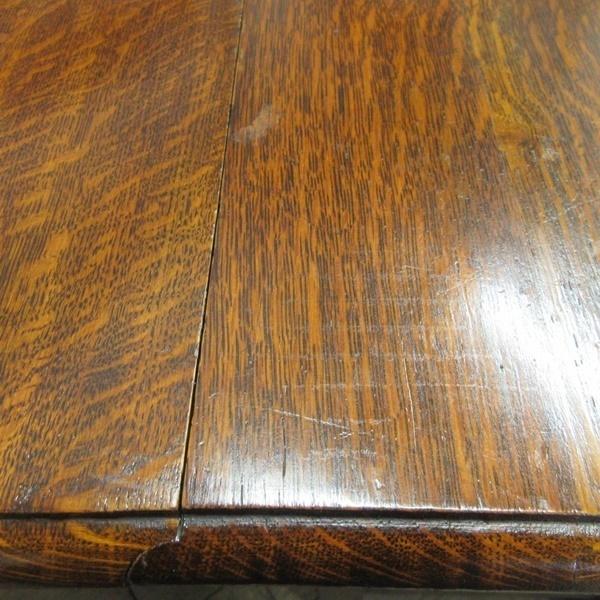 イギリス アンティーク 家具 ダイニングテーブル バタフライ ゲートレッグテーブル ツイストレッグ 木製 オーク 英国 TABLE 6773b_画像10