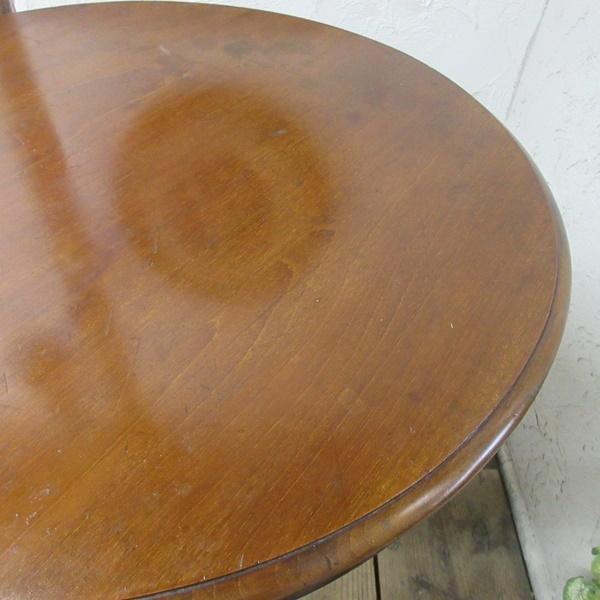 イギリス アンティーク 家具 オケージョナルテーブル サイドテーブル 飾り棚 花台 木製 マホガニー 英国 SMALLTABLE 6779b_画像9